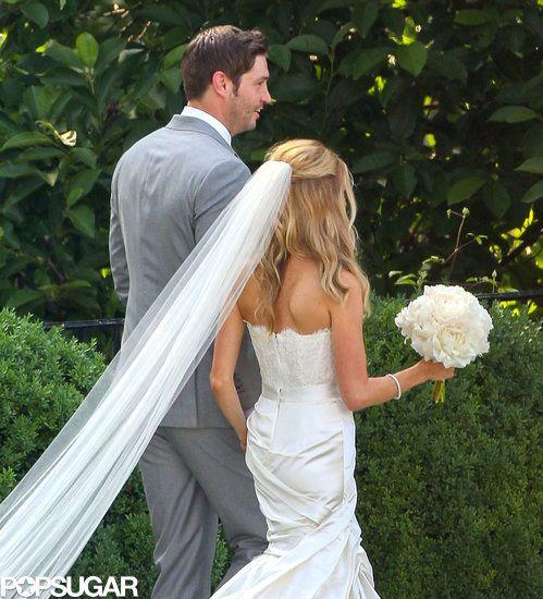 Kristin Cavallari Wedding Pictures - loose waves