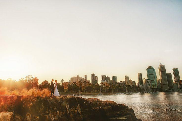 Kangaroo Point Wedding, Brisbane, Queensland