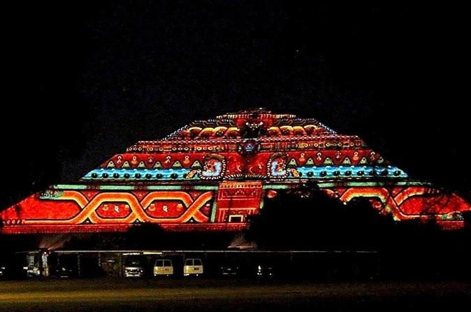 Teotihuacan Light and Sound Show with Dinner and Optional Tour