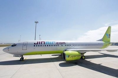 Jin Air has introduced the 12th B737-800 aircraft with a new design #JinAir #jinair