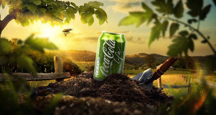 다음 @Behance 프로젝트 확인: \u201cCoca Cola - Life\u201d https://www.behance.net/gallery/45388149/Coca-Cola-Life