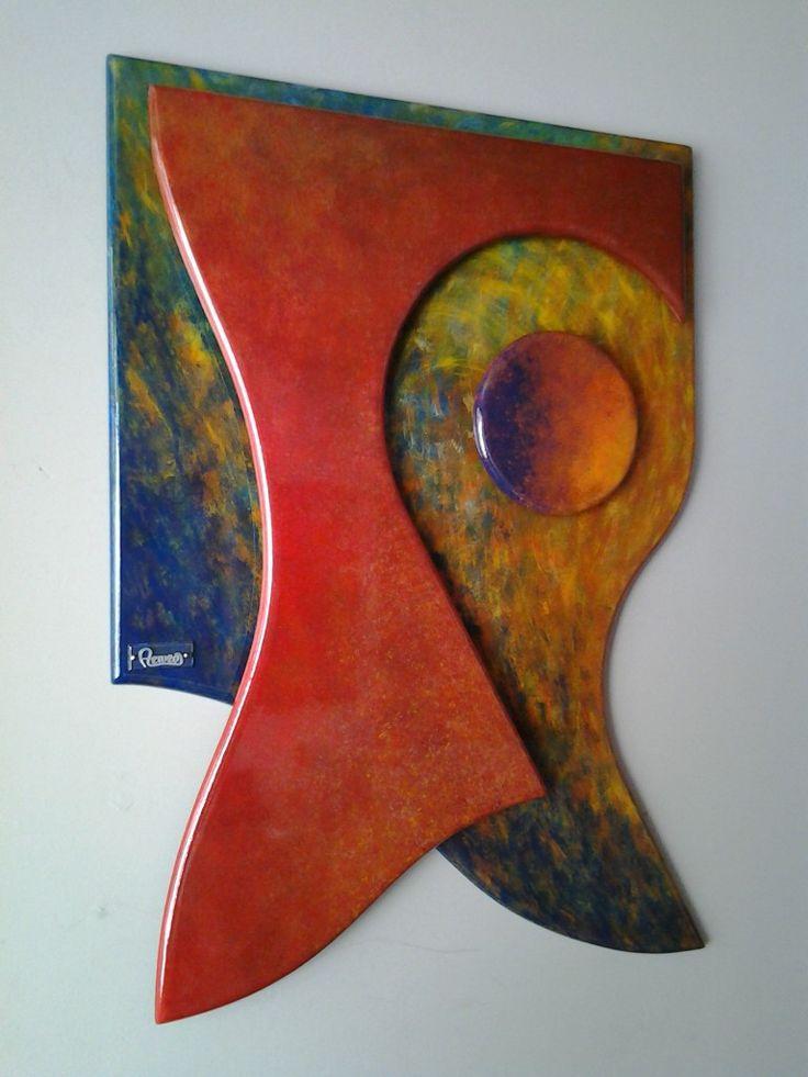 Cuadro 50 x 70 cm. Pintado sobre madera. A la Venta. 📲 💬 312 4962895 cromatempo@gmail.com