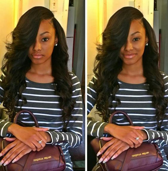 Miraculous 1000 Ideas About Sew Ins On Pinterest Loose Waves Hair Weaves Short Hairstyles For Black Women Fulllsitofus