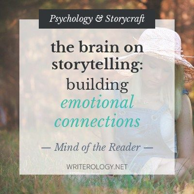 How can you build an emotional connection with your readers? Let's take a peek at the brain and dig into the science behind reading, writing and empathy. | Writerology.net
