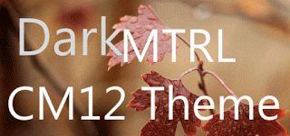 DarkMTRL Thyrus CM12 Theme v5.3  Sábado 3 de Octubre 2015.By : Yomar Gonzalez ( Androidfast )  DarkMTRL Thyrus CM12 Theme v5.3 Requisitos: 5.0 Información general: DarkMTRL CM12 es un tema oscuro desarrollado para el motor del tema de CyanogenMod CM12.Se basa en el concepto original por el autor cuando Android 5.0 fue lanzado con componentes oscuros invertidas y los acentos y los aspectos más destacados del gris azul. Tenga en cuenta: Dada CM12 y su motor de temas siguen siendo WIP algunas…