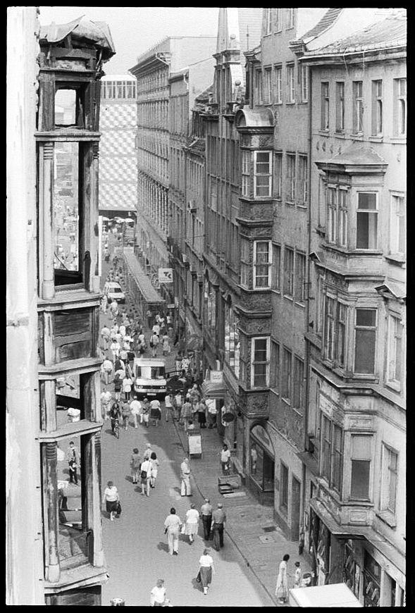 Leipzig, Hainstraße 1991