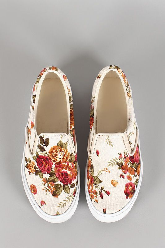 Rose Slip On Sneaker
