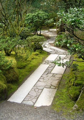 Portland Japanese Garden stone path Love IT! Perfect Idea for any Space. The Only way is ...to experience it. #RealPalmTrees #GreatDesignIdeas #LandscapeIdeas #2015PlantIdeas RealPalmTrees.com #BeautifulPlant #PalmTrees #BuyPalmTrees #GreatView #backYardIdeas #DIYPlants #OutdoorLiving #OutdoorIdeas #SpringIdeas