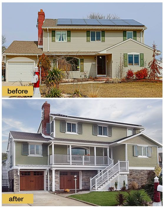 166 Best Before And After Exterior Makeovers Images On Pinterest