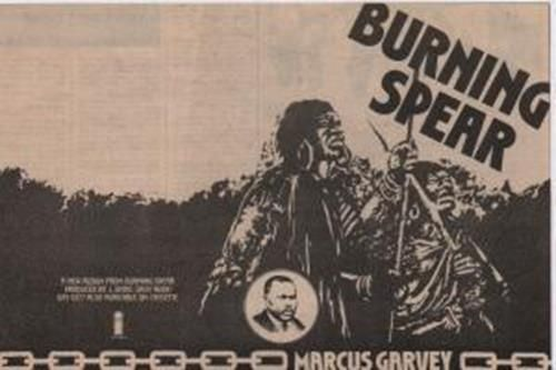 Burning Spear Marcus Garvey | Burning Spear Marcus Garvey - Uk ADVERT
