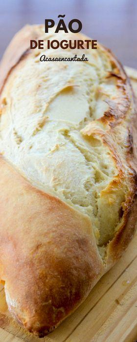 Receita de pão caseiro de iogurte