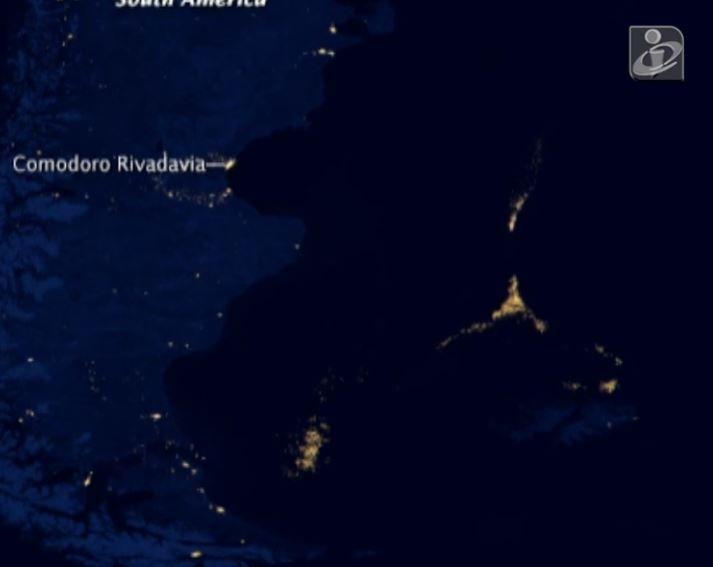 NASA alega que luzes misteriosas registradas por satélite sobre o Oceano Atlântico sejam barcos pesqueiros