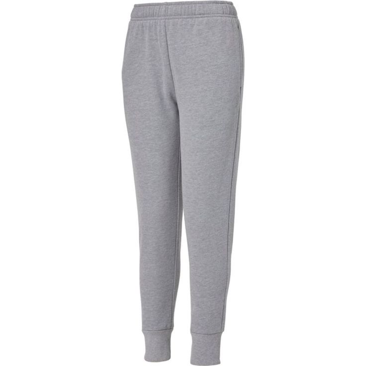 Reebok Boys' Heather Cotton Fleece Pants, Size: XL, Gray