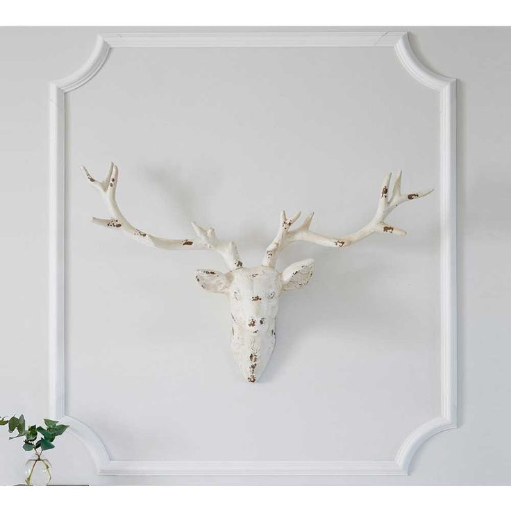 Antiqued Stag Head - French Bedroom Gift List