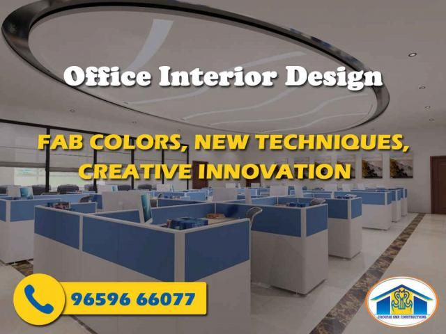Office Interior design We create offices to work together as a team. Designed and built around as per your needs for today and tomorrow. Designs that can improve your business, staff morale and even your bottom line _____________________________________________________ Not the above one but it is an important factor To built your dream office call: SMRConstructions #SMRconstruction #Builders #Construction #design #realestate