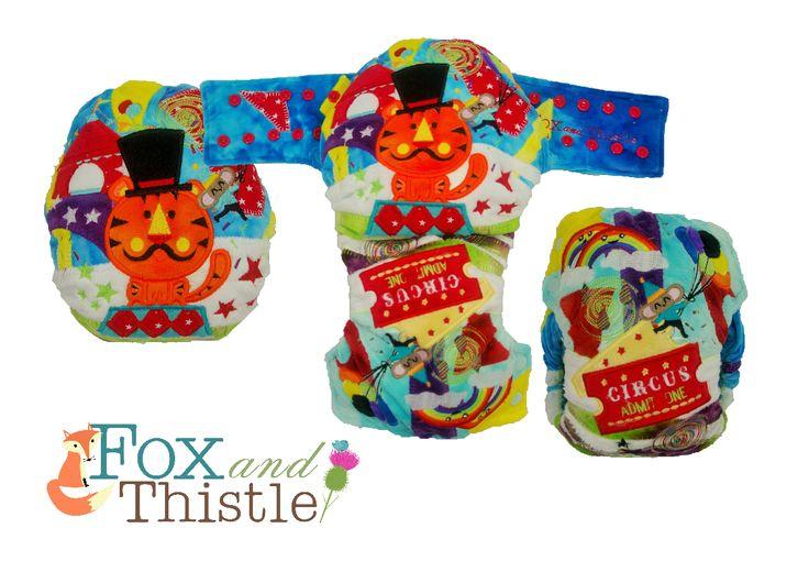 Fox and Thistle OSFM Epic Design. Modern cloth nappy Modern cloth diaper