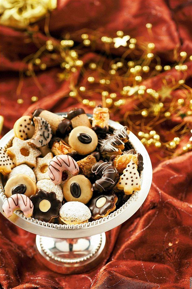 Vanocni Cukrovi or Christmas cookies are a Czech tradition.  There are literally hundreds of different recipes for Vanocni Cukrovi with a multitude of variations. Each family have their assortment that they make every year. The recipes are then passed from mother to daughter through the generations.