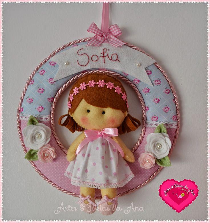 Artes & Ideias da Ana: Sofia ♥