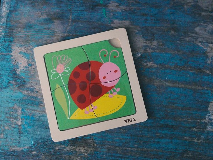 Buburuză – puzzle din 4 piese jucariionline.eu/produse/buburuza-puzzle-din-4-piese/