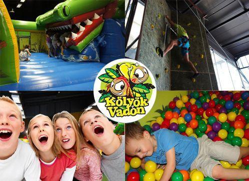 Gyerekeknek Kupon - 50% kedvezménnyel - Gyerekeknek - Belépő az óriás Kölyökvadon Családi Játszóházba!  Egy gyermek és egy felnőtt részére, hétköznapokon korlátlan játékidőre, különlegességekkel 2.900 Ft helyett most 1.450 Ft-ért! Játék-élmény-szórakozás-állatsimogató!.