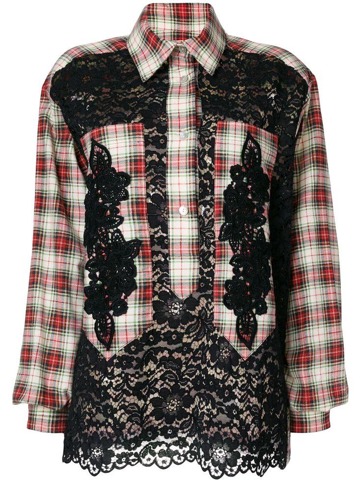 ANTONIO MARRAS Рубашка в Клетку с Вышивкой - Купить в Интернет Магазине в Москве | Цены, Фото.