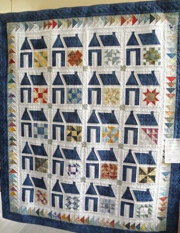 92 best House logo images on Pinterest | Quilt block patterns ... : quilt house patterns - Adamdwight.com