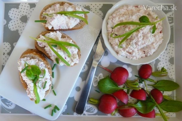 Nátierka z jogurtu a zeleniny (fotorecept) - Recept