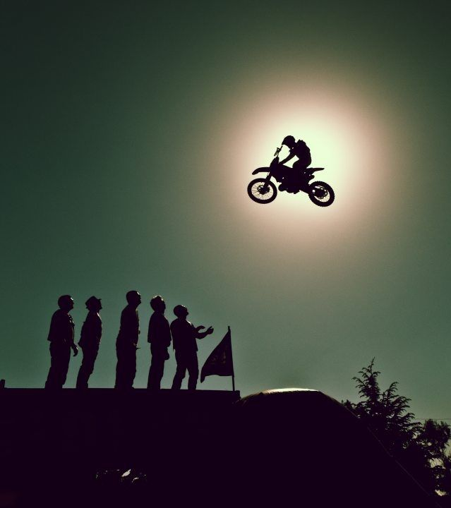 """Just Fly"" by Angelo Dau: Extreme Sports, Motocross Life, Angelo Dau, Dirtbikes 3, Backlight Photography, Fun Photos Videos, Silhouette, Dirt Bike, Photography Ideas"