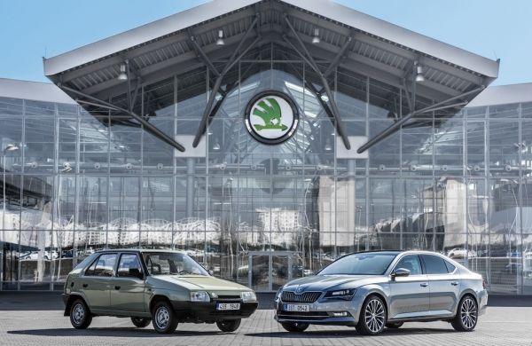 Zilveren jubileum: 25 jaar ŠKODA en Volkswagen
