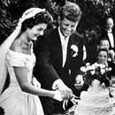 American President: John Fitzgerald Kennedy married Jacqueline Bouvier