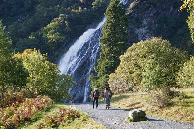Powerscourt Waterfall: a 5 minute drive from Powerscourt Hotel.  Perfect for an afternoon hike or a summer picnic