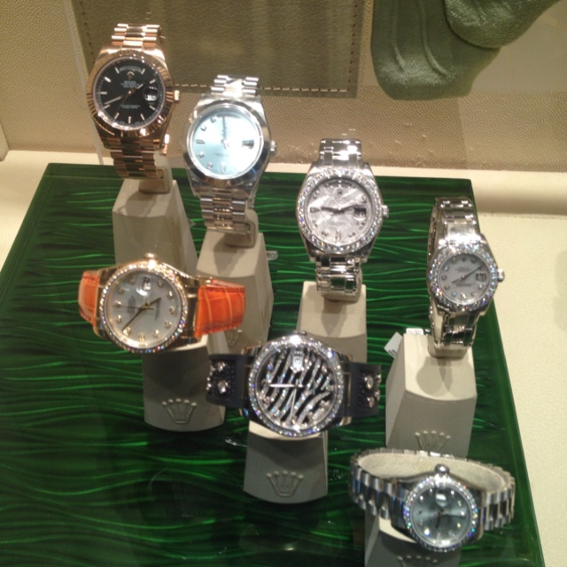 Rolex watches at Cesar's Palace :)