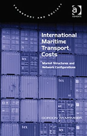 International maritime transport costs: market structures and network configurations (PRINT VERSION) http://biblioteca.cepal.org/record=b1252312~S0*spi  This book develops our understanding of maritime transport costs, the maritime industry and the competitiveness of regions in a global market environment through a geographical lens. Further, the book uses a unique set of data that gives an extensive insight into Latin American international maritime transport costs and its determinants.
