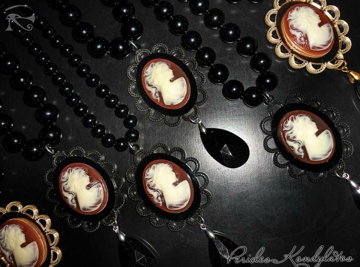 """The Dark Cameo"" Collection by Pericles Kondylatos available at Vassilis Zoulias Boutique Akadimias 4 & E-Outfit.com boutique Tsakalof 16 Athens."