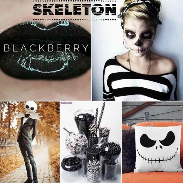 halloween makeup skeleton use senegence shadowsense lipsense for a budge proof smudge proof - Best Halloween Makeup To Use