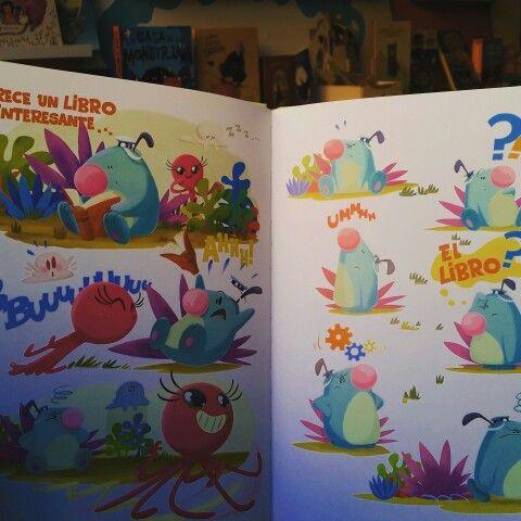 """Hoy os recomendamos """"Picopico"""" un cómic de @sallybooks para primeros lectores escrito e ilustrado por Pepe Sánchez (supervisor de animación de la serie Pocoyó o animador en la película El Cid the leyend entre otros trabajos). A Picopico le encantan las aventuras, gastar bromas junto a sus amigos Pu y Mu y sobretodo contar las olas a la orilla del mar.  PVP: 11.99€"""
