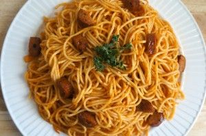 Haitian Spaghetti -- I remember loving this as a kid!!! Oh maaaaaaaannnnnn!