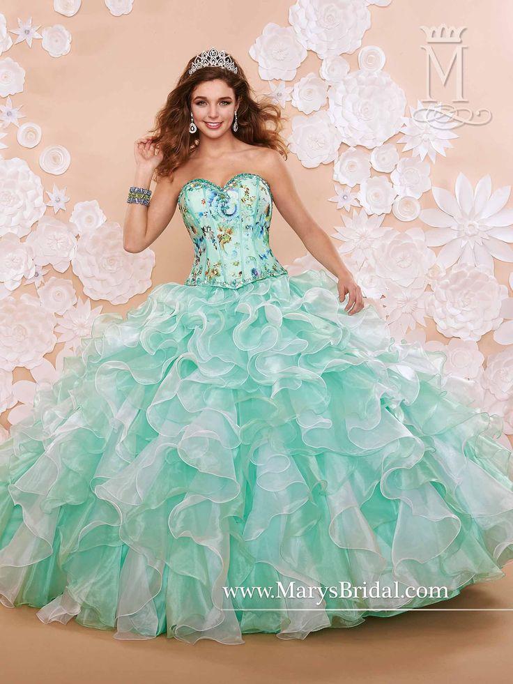 Quinceanera Dresses 2014 Mint Mary's Mint...
