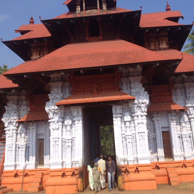 Krishna temple in Kochi, India