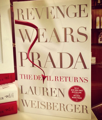 How amazingly lovely Lauren Weisberger is (and how far along everyone on staff is on their copy of 'Revenge Wears Prada')