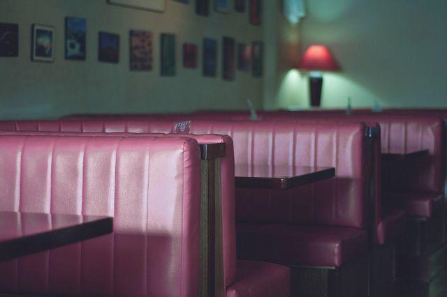 Café. Photo of Joanna Kitchener