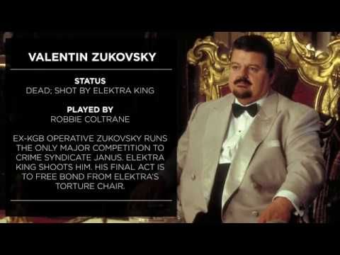 On This Day In Robbie Coltrane Began His Two Days On The Set Of GOLDENEYE,  Playing The Russian Gangster Valentin Zukovsky.