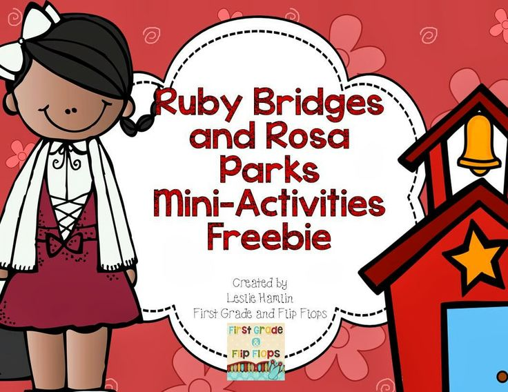 Here's a cute and fun Ruby Bridges and Rosa Parks mini activity set and It's FREE!! Head over to the blog and see what we've been up to!
