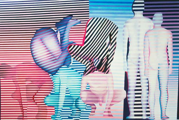 E by Agata Przyzycka #art #artist #painting #drawing - Beauton Art Gallery - http://beautonart.com | http://beautonart.dk