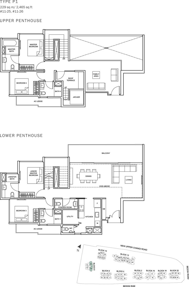 The Glades Condo Floor Plan - 4BR Penthouse - P1 - 229 sqm-2465 sqft.JPG