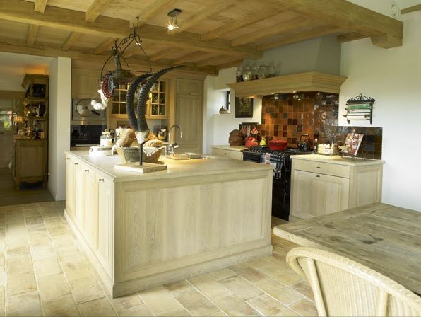 Keuken plafond opbouw