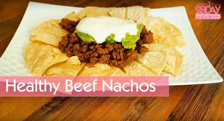 Healthy Beef Nachos