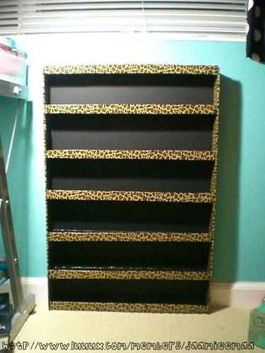 My weekend project!! Nail polish holder.