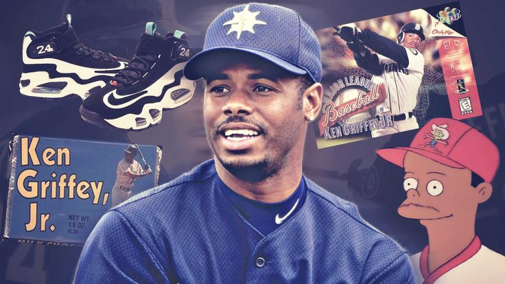 As a player, Ken Griffey Jr. was one of those few athletes to transcend the sports world and take hold on greater pop culture.