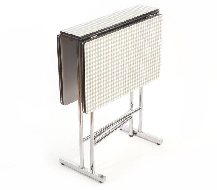 Klapp-Ess-Küchen-Tisch Resopal Sixties Midcentury modern folding table pliante